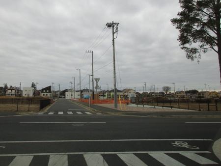 スーパータイヨー建設の傍らで「学園の森1丁目」造成工事が進む!