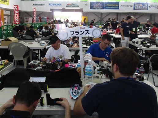 谷田部アリーナでは10月10日まで電動オフロードカー世界選手権が開催されています!