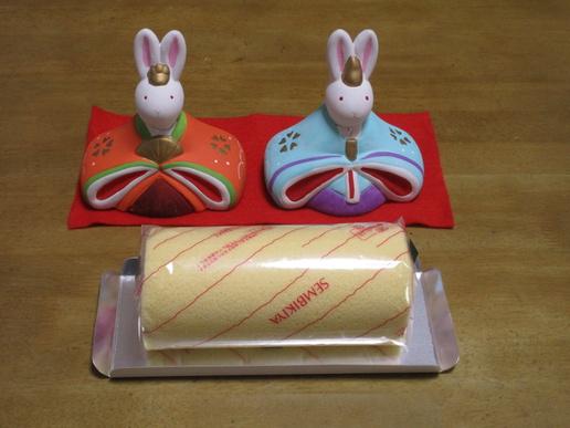 桃の節句にはやっぱりおいしいケーキ「千疋屋」のあまおうロールにしました!