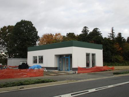 ホットスポット「学園の森西交差点」付近の建設工事状況です!