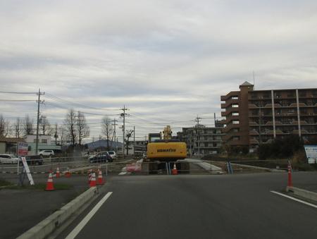 コストコから西大通りへ抜ける道が開通間近です!