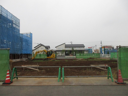シャトレーゼのある学園の森西交差点付近でまた新たな動きが!