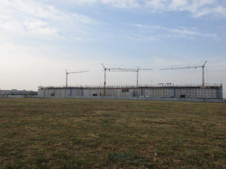「葛城北部学園」2018年1月完成を目指し建設工事が進む!