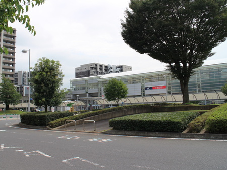 【今昔35】駅前ロータリーから研究学園駅を見た!