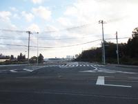 「新都市中央通り」フルーツショップ青木から先延伸工事。着実に進んでいます!