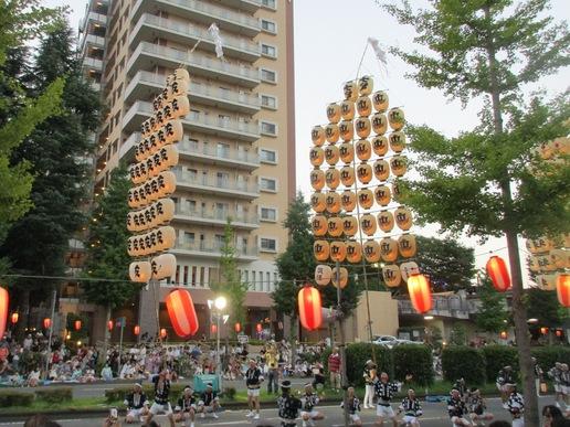 まつりつくばに行ってきました!秋田の竿灯は思いの外すごかった。感動した!