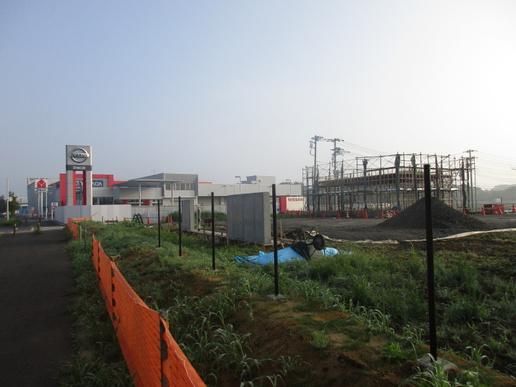 スシロー学園の森店6/16オープン!近くに幼稚園を運営するわかば学園工事開始!