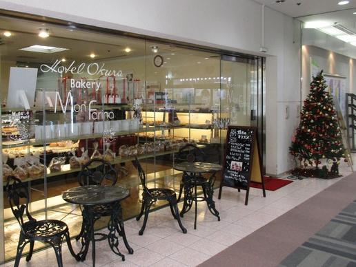 有名ホテル直営のパン屋さん「ベーカリー モンファリーナ」この時期サンタさんのパンが登場!
