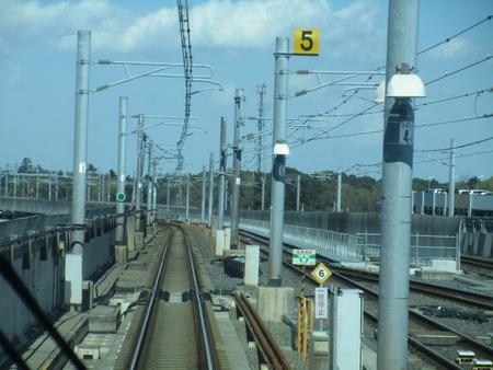 TX守谷駅付近の入出庫線複線工事終了!これでもっと便利になる?