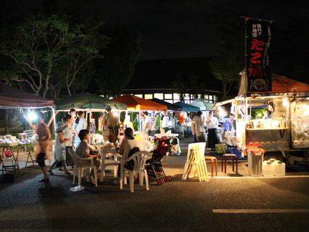 夏休み特別企画「ミートコ夜マルシェ」が開催された!