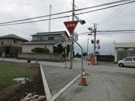 葛城郵便局前の恐怖の交差点が改良される!