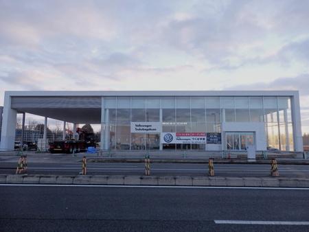 コストコ前、BMW、VWに続きトヨペットの工事も始まった!
