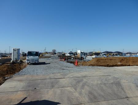 スーパータイヨー向いで店舗、分譲賃貸棟3棟の建設が始まった!