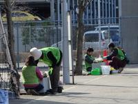 【グリーンの会活動前編】研究学園駅前に素敵な寄せ植え飾りました!