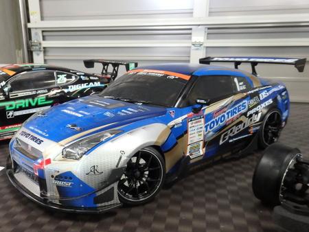 レーシングカー集結!谷田部アリーナはワンダーランドです!