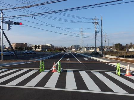 【祝】コストコから西大通りに通じる「葛城北線」4/3開通!