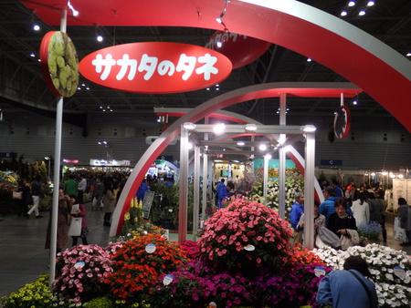 「日本フラワーショー」タネのタキイの「たねぢから」に人垣が!