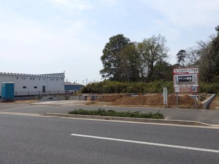 学園の森交差点付近の建設工事はとどまるところを知りません!