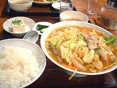 富士泉 - キムチ豚汁