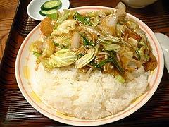富士泉 - カツの野菜あんかけ