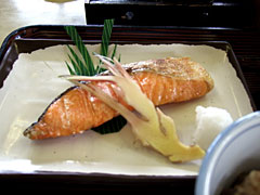 割烹 三徳 - 焼鮭