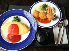 にっぽんの洋食 蘭亭 - オムカニ