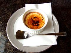 にっぽんの洋食 蘭亭 - クリームブリュレ