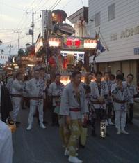 本日真壁祇園祭最終日