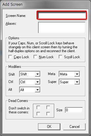 キーボード・マウス共有ソフト「Synergy」を使ってみた。