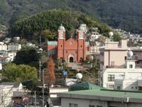 長崎ぶらぶら 12 一瞬に吹き飛んだという浦上天主堂