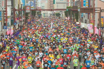 第一回水戸黄門浪漫マラソン~~