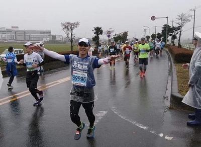 ●水戸漫遊マラソン完走で感無量~
