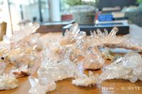 ヒマラヤ産 水晶クラスター入荷です!