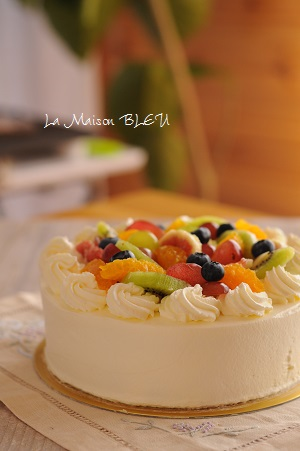 ローカーボでお誕生日ケーキ