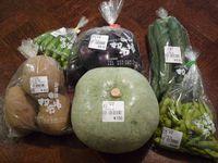 研究学園 みずほの村市場で野菜をいろいろ買ってみた! その2