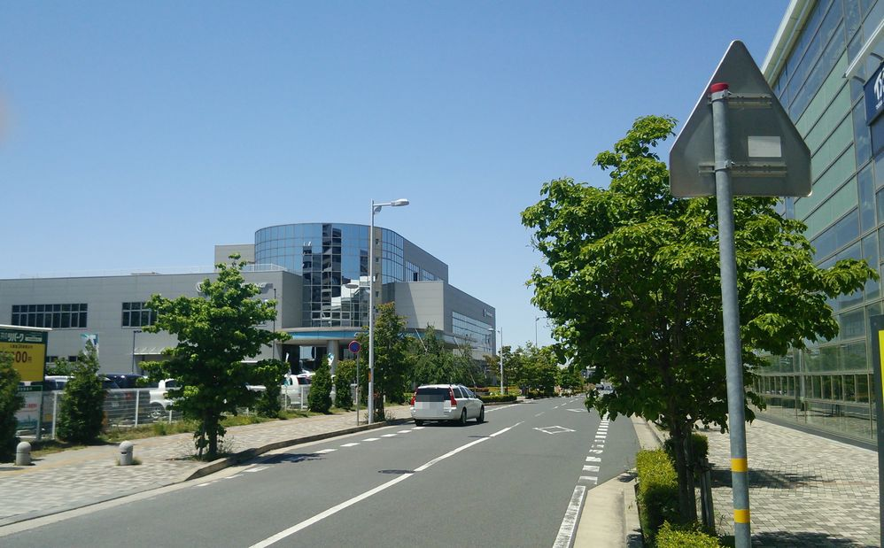 研究学園 天気が良くて本当に気持ちよい!!