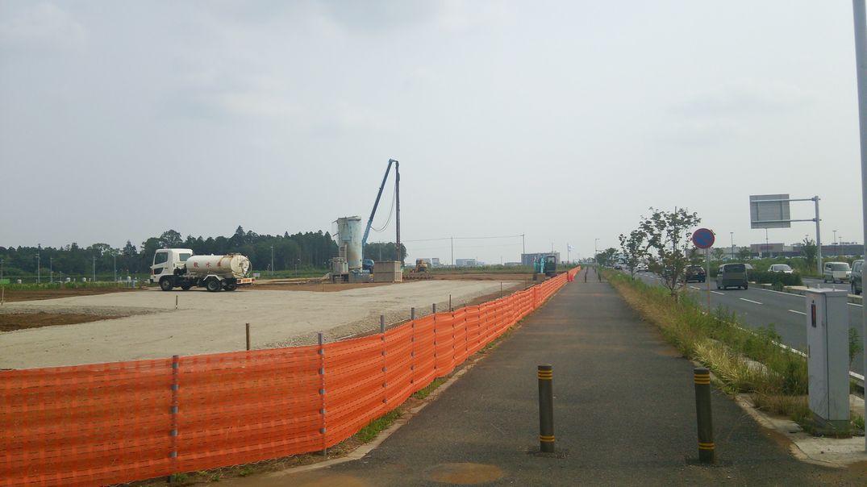 研究学園 学園の森1丁目45番地(A42街区)で建設が始まるのか!?