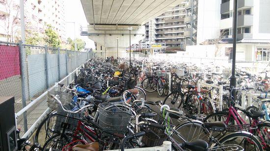 研究学園 自転車の盗難が流行っています。皆さん、ご注意を!