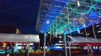 研究学園駅前イルミネーション2016が点灯しています!