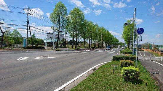 研究学園 葛城北線と西大通りの交差点を見てきた #つくば