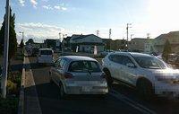 研究学園 葛城西線の渋滞はどうにかならないのか!?