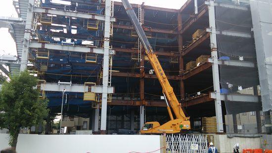 つくば 筑波メディカルセンター病院3号棟増築の様子