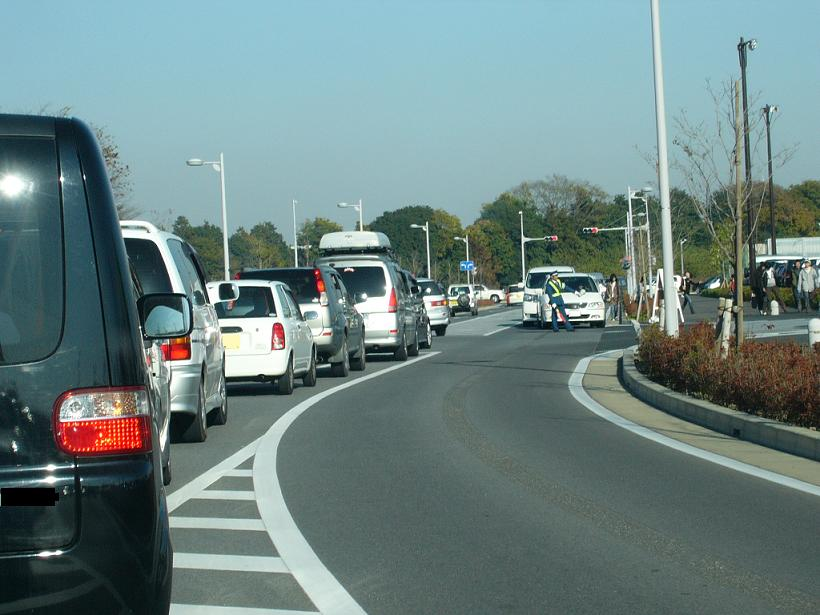 イーアスつくば 渋滞について考える。
