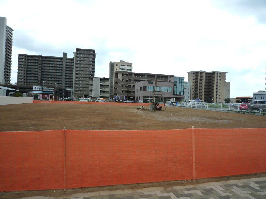 研究学園(つくば新都心) ポンパドウルの西側建設開始?
