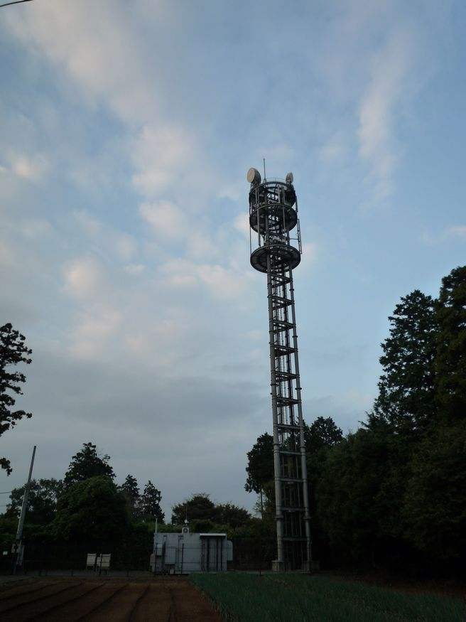 研究学園(つくば新都心) 電波塔が建っています その3