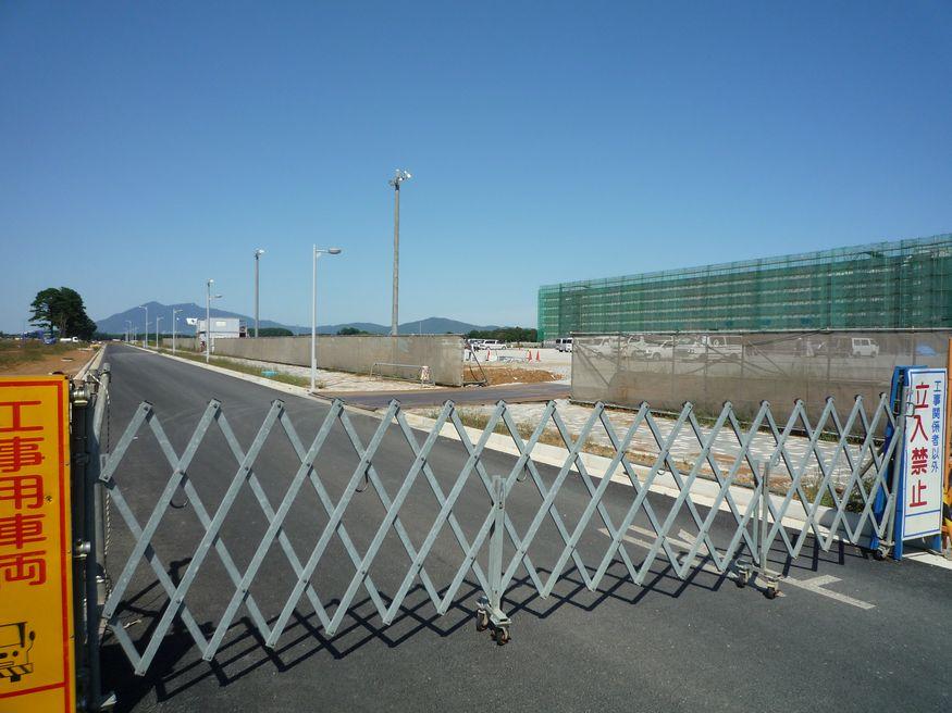 研究学園(つくば新都心)  葛城西線とケーズデンキ