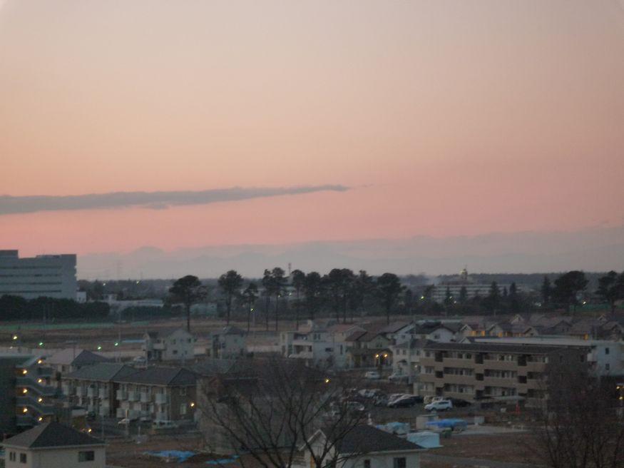 研究学園(つくば新都心) 最近の風景(イーアス屋上から)