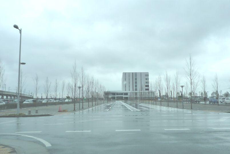 つくば市 新市庁舎 建設地 現在の状況