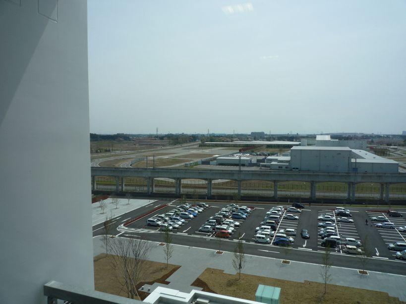 研究学園 つくば市新市庁舎からの眺め