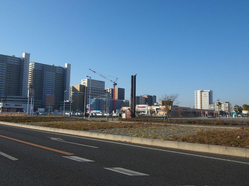 研究学園 駅近辺の風景